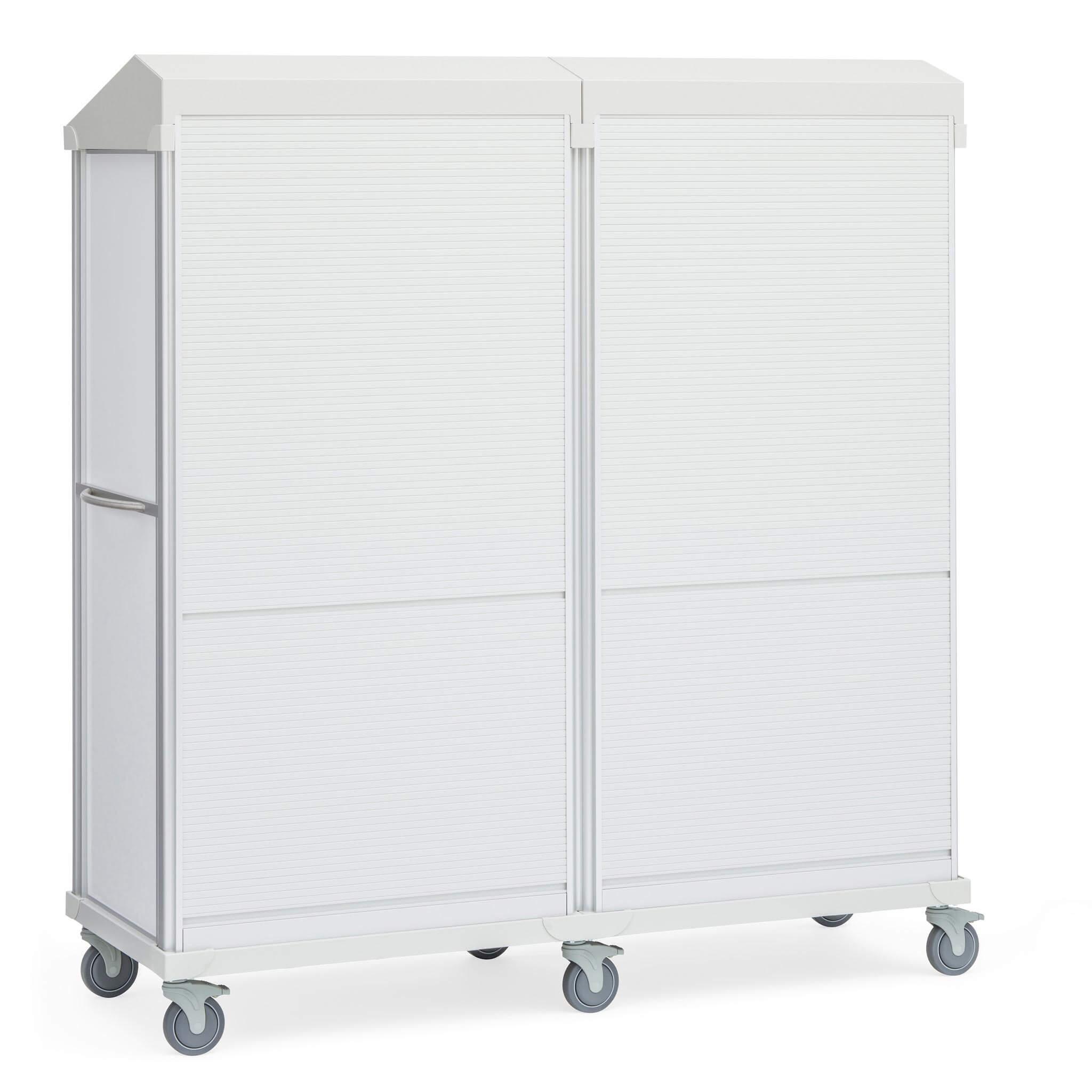 Roam 4 Supply Cart, Roll-Top Door