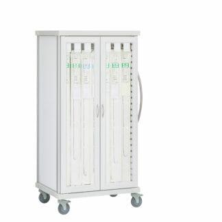Roam 2 Catheter Cart with Glass Doors